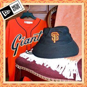 🌻 New Era SF Giants Clubhouse Bucket Hat EUC 🌻